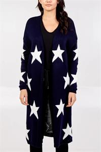 Star Knit Cardigan