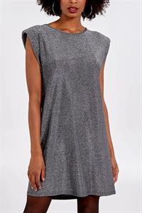 Metallic Silver Tunic