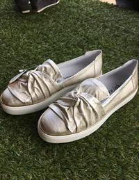 Alpe Silver Loafers